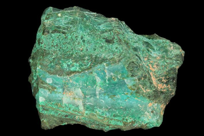 "1.6"" Chrysocolla and Malachite Association - Arizona"